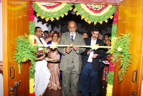 Shri D. Manmohan, Vice President (HZ & MZ) inaugurating new office premises of Income Tax Appellate Tribunal, Hyderabad Benches.